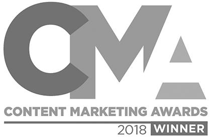 Best New Print Publication for Design - Content Marketing Awards 2018
