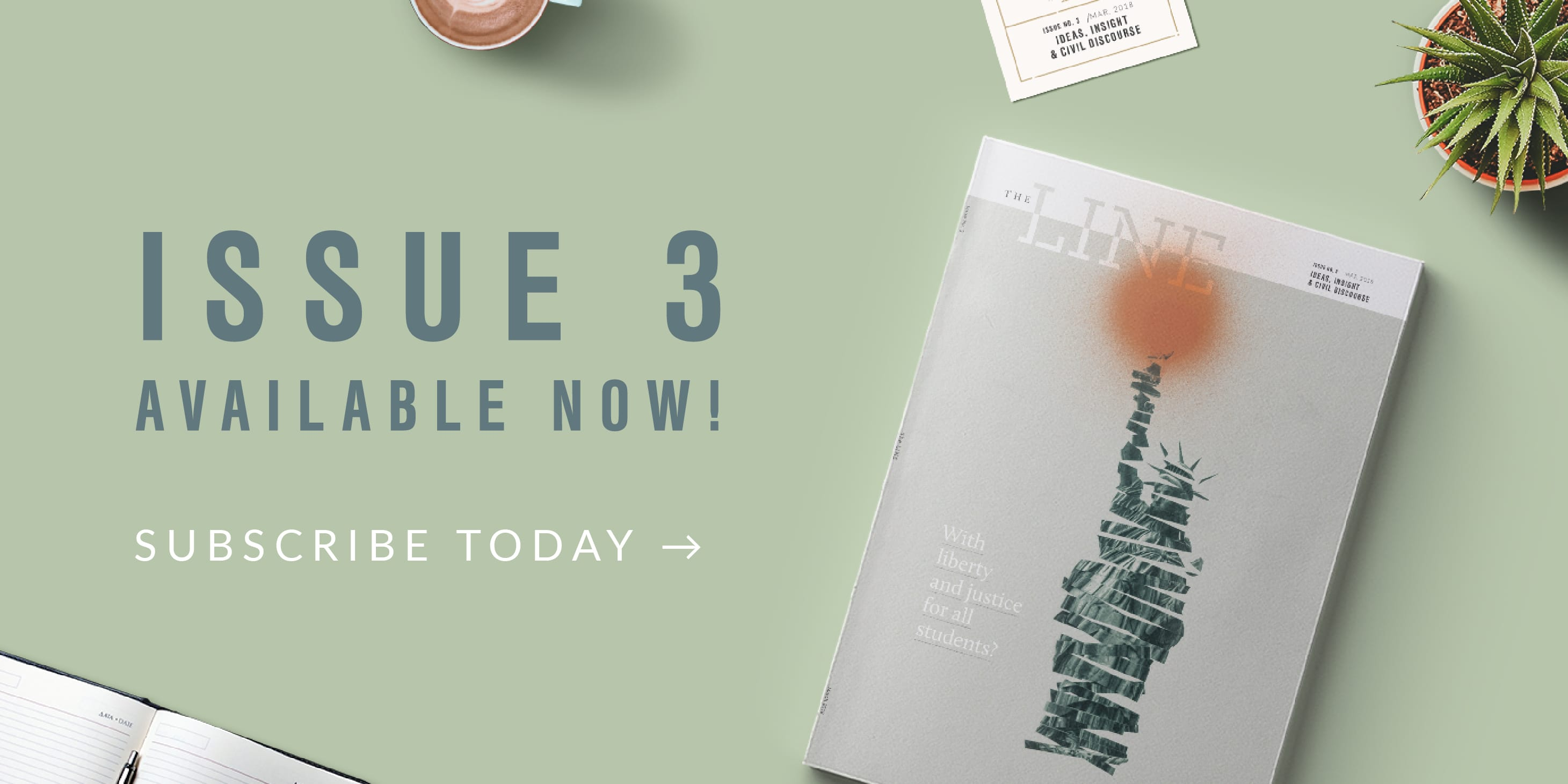 The Line Issue 3 - Subscribe Now